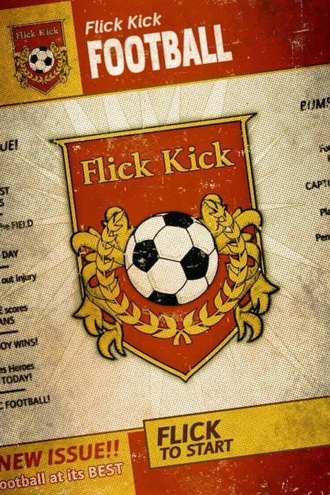 Free App Of The Week - Flick Kick Football - бесплатный футбол для iPhone и IPad
