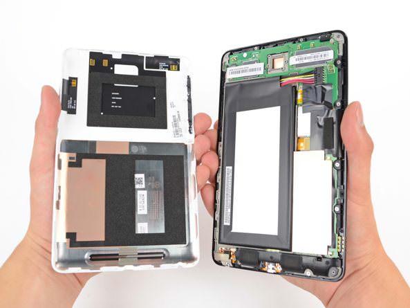 Разобрать Nexus 7 легче, чем IPad 3 [Обзор / Видео]