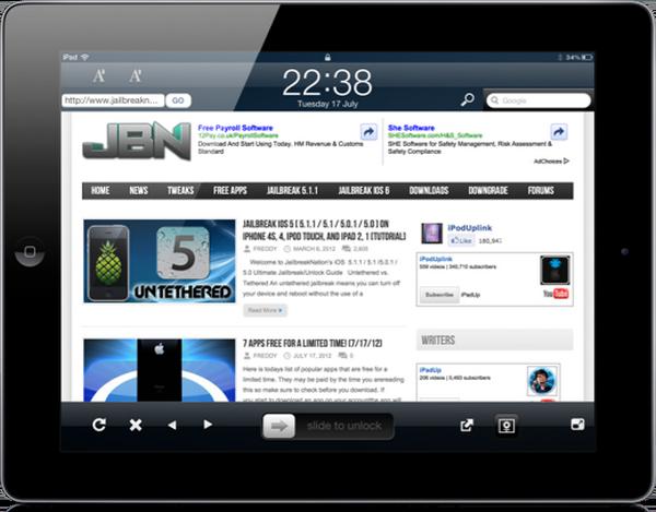 LockWeb позволяет просматривать сайты прямо с экрана блокировки