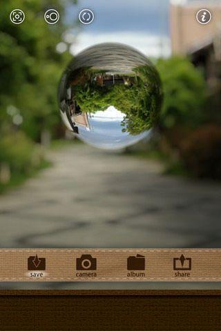 Как создать эффект капли на iPhone с помощью MarbleCam?