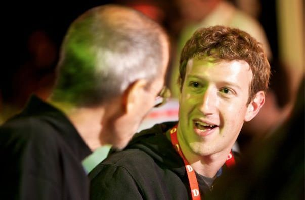Стив Джобс ощущал своеобразное родство с Марком Цукербергом