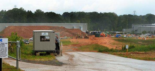 Apple приступила к строительству нового дата-центра в Северной Каролине