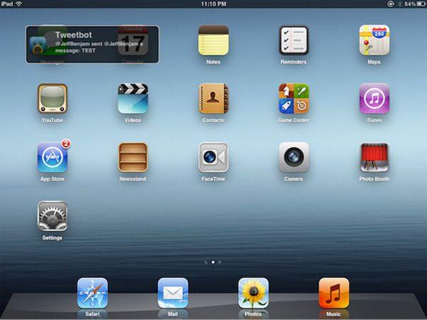 Твик NotiPad добавит уведомления из OS X в iOS на iPad