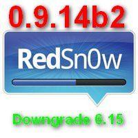 Скачать Redsn0w 0.9.14b2 для понижении модема 6.15.00 в iPhone 3G и 3GS