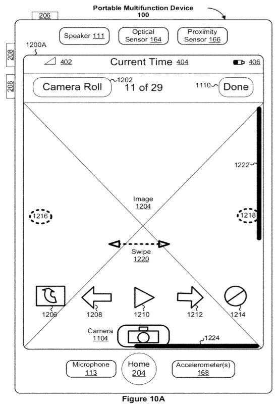 "Apple получила патент на ""прозрачную прокрутку"" в iOS"