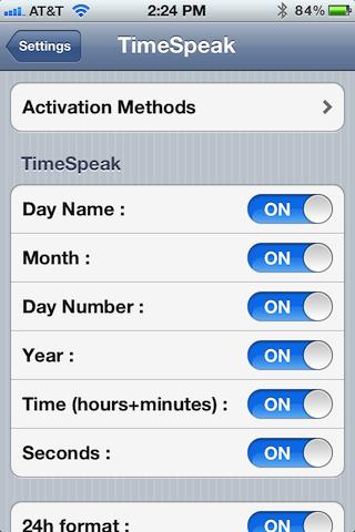 Твик TimeSpeak заставит произносить время на iPhone, IPad или iPod Touch