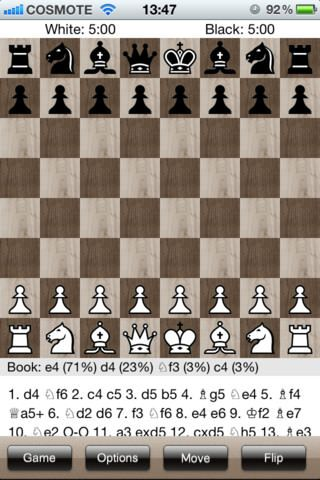 Ultimate Chess. Шахматы для iPhone, IPad, iPod Touch