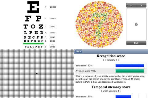 Vision - проверка и улучшение зрения с помощью iPhone и IPad [AppStore]