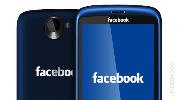 Bloomberg: Facebook выпустит собственный смартфон в 2013 году