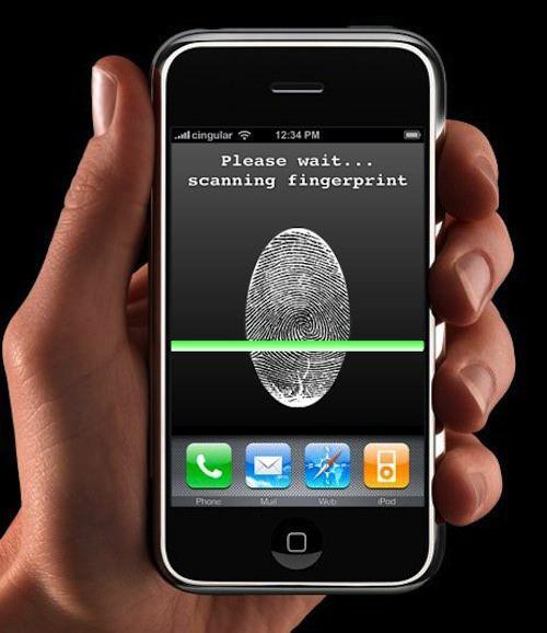 """iPhone сможет """"узнавать"""" своего владельца по отпечаткам пальцев"""