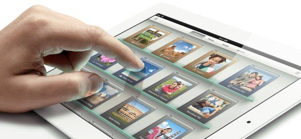Apple получила патент на технологию мультитач