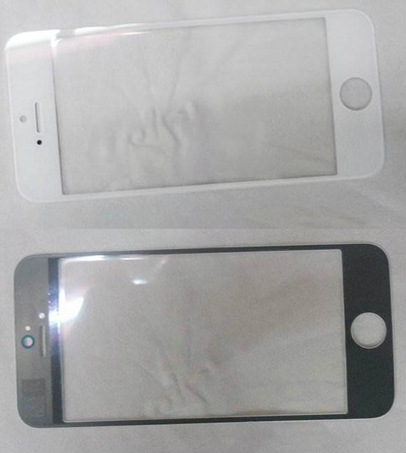 Фото передней панели iPhone 5