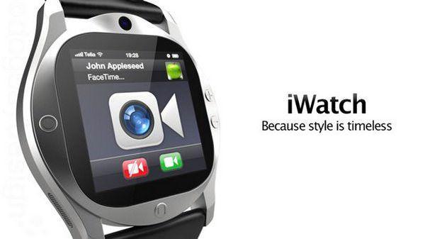 Новый концепт часов iWatch с retina-дисплеем и поддержкой FaceTime