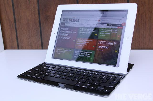 Обзор клавиатуры Logitech Ultrathin iPad Keyboard Cover для IPad [Аксессуары]