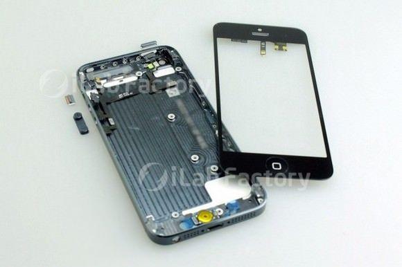 iPhone 5 в разобранном виде [Фото]