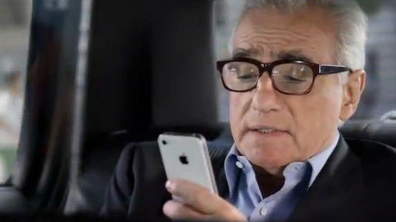 Мартин Скорсезе снялся в новой рекламе Siri