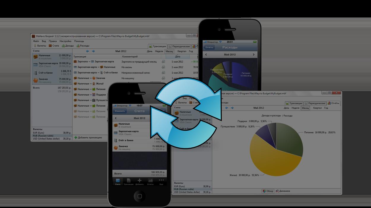 Майвио Бюджет - профессиональный бухгалтер в Вашем iPhone