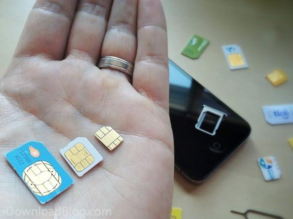 Европейские операторы готовы приступить к тестированию nano-SIM совместно с Apple