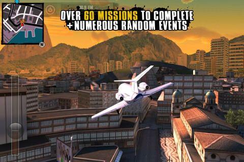 Скачать Gangstar Rio: City of Saints - GTA на iPhone, IPad и iPod Touch