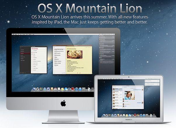 Тим Кук: OS X 10.8 Mountain Lion сегодня станет доступной в App Store