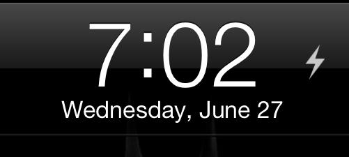 Torch - включение вспышки на iPhone 4 или iPhone 4S c экрана блокировки