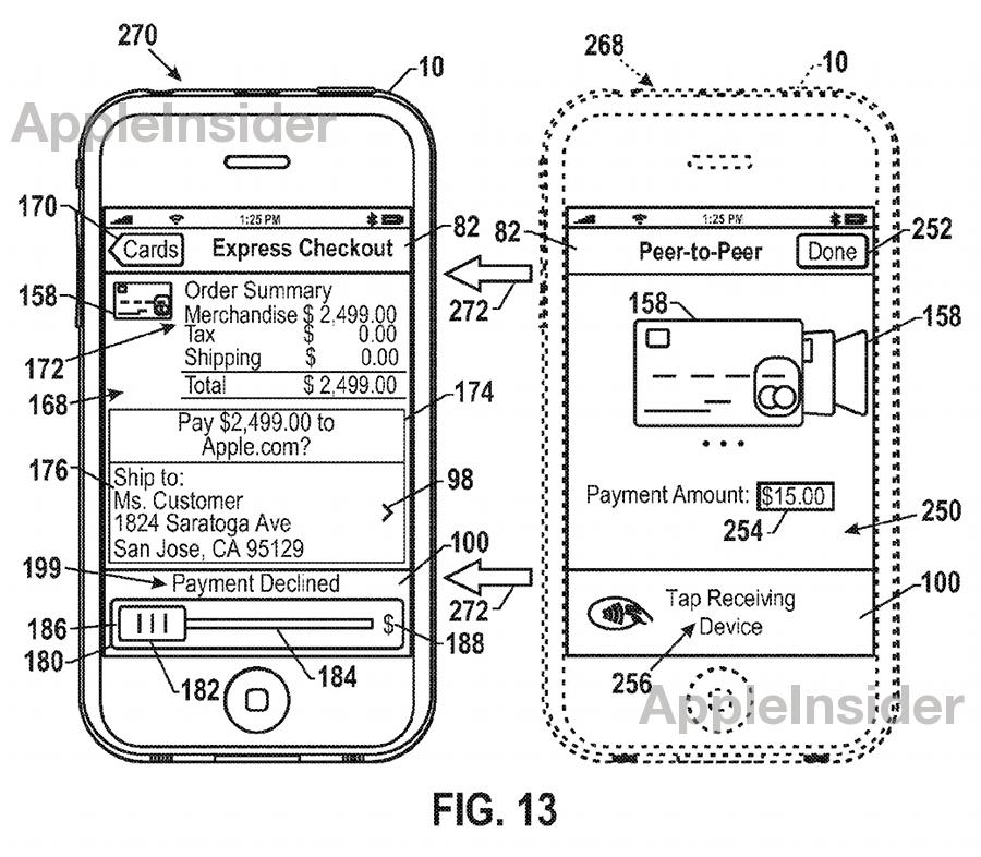 Новый патент Apple усовершенствует мобильные платежи
