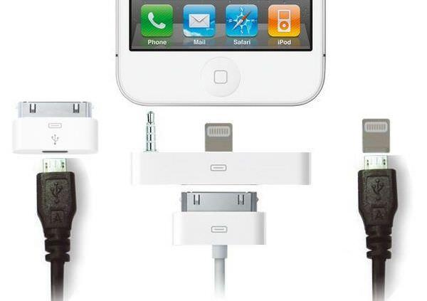 Концепт переходников для разъема нового iPhone 5 [Фото]