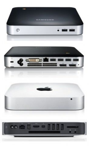 Chromebox – копия Mac mini или еще одна причина обвинить Samsung в плагиате