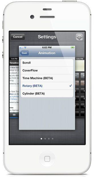 Джейлбрейк-твик Dash - многозадачность в новом стиле на iPhone и iPod Touch