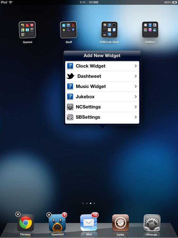 Твик Dashboard X обновился до версии 2.0 [Cydia / Обзор / Скачать]