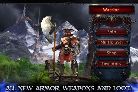 Eternity Warriors 2 для iPhone, iPod Touch и IPad [Обзор / Видео]