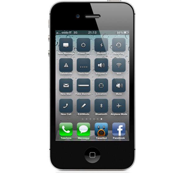 Твик IconToggles - включение и выключение опций iOS прямо с главного экрана
