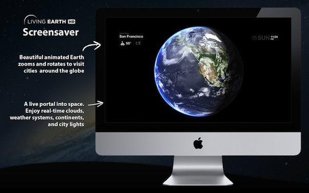 Living Earth HD - Земля в режиме реального времени на Вашем Mac