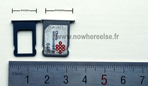 Фотографии держателя nano-SIM карты и кнопки Home iPhone 5 [Фото]