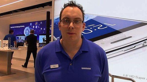 В Сиднее открылся магазин Samsung очень напоминающий Apple Store
