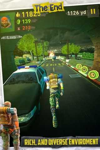 Обзор игры TheEndApp для iPhone, iPod Touch и IPad [App Store]