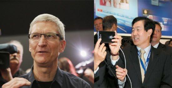 Попытки урегулирования патентных споров главами Apple и Samsung провалились