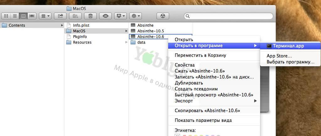 Отвязанный джейлбрейк iOS 5.1.1 с Absinthe 2.0 на OS X Mountain Lion? [Инструкция / видео]
