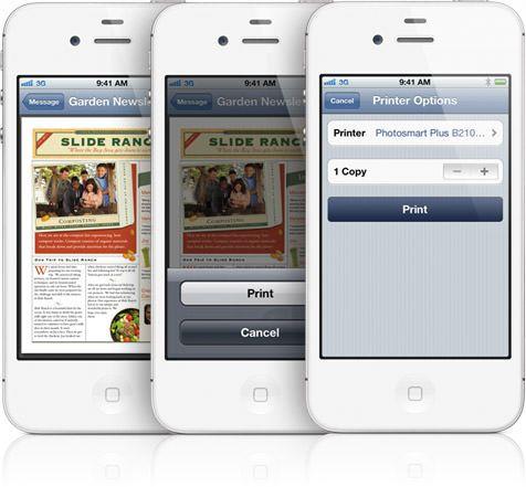 Что такое AirPrint и как им пользоваться на iPhone или IPad?