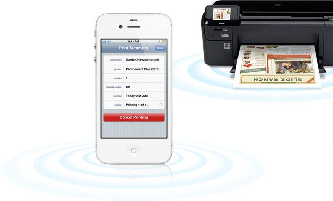 how to connect wifi printer to ipad air
