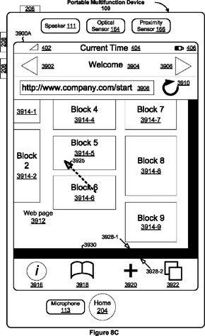 Пакет новых важнейших патентов, полученных Apple