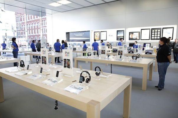 Первый Apple Store в Швеции откроется 15 сентября