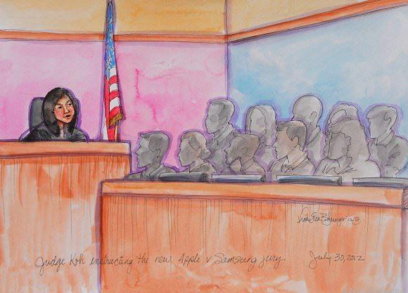 Apple смогла убедить суд присяжных в виновности Samsung уже в первый день слушаний