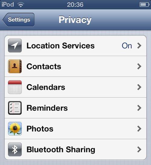 Что нового в iOS 6 beta 4?