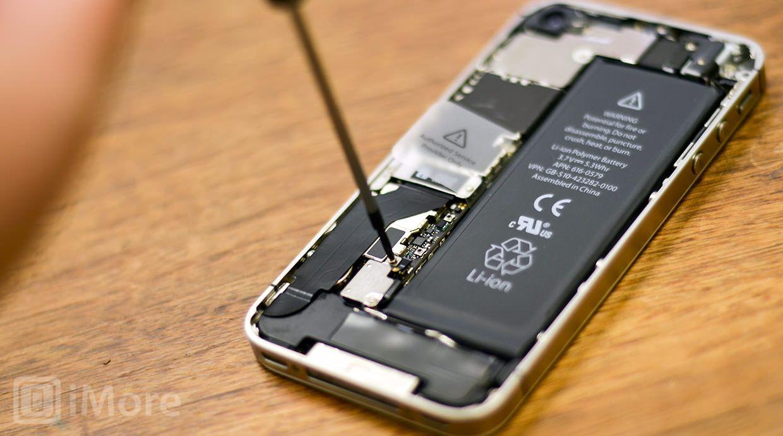 замена батареи у iphone 4s