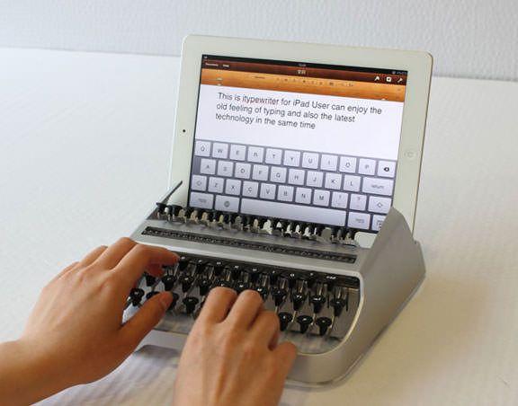 iTypewriter превратит iPad в печатную машинку [Аксессуары]