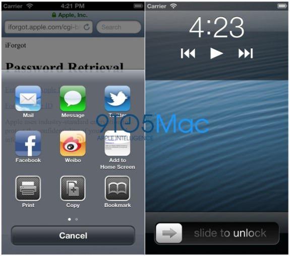 Как будут выглядеть приложения на новом iPhone 5?