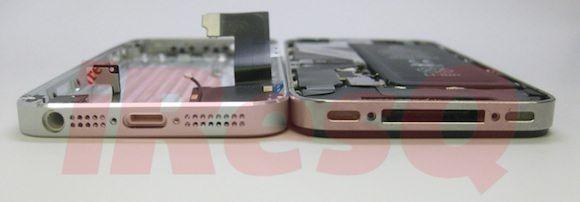 Новое фото уменьшенного док-разъема в корпусе iPhone 5