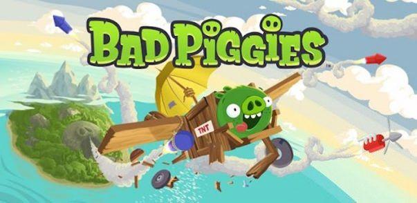 Скачать Bad Piggies от разработчиков Angry Birds для iPhone и IPad