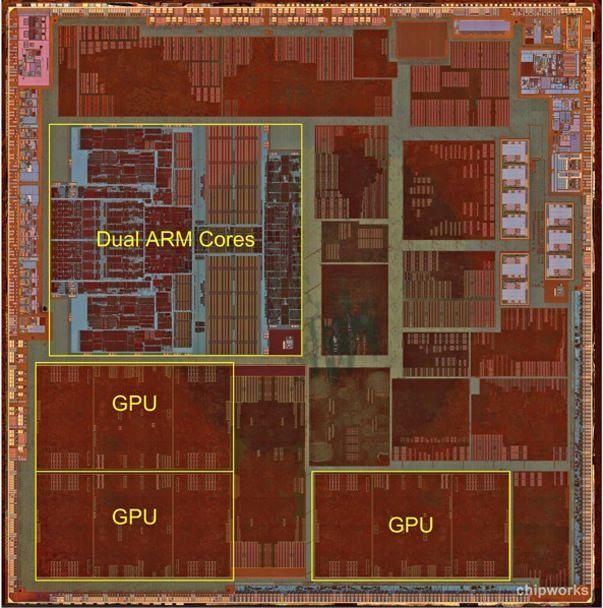 Что внутри процессора А6? Взгляд под микроскопом